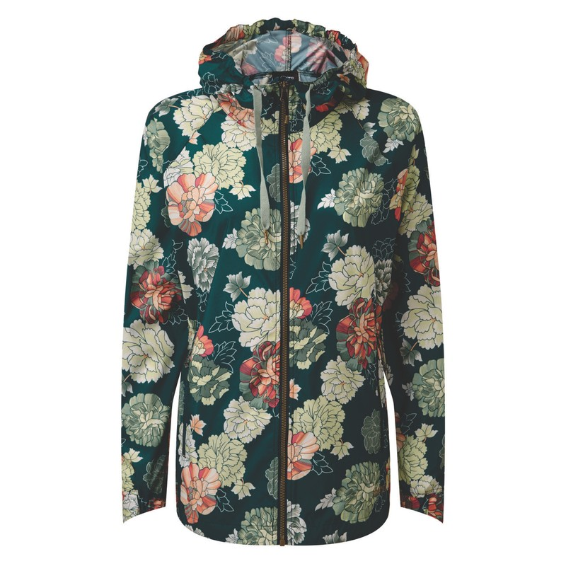 Samir Windbreaker - Rathna Green