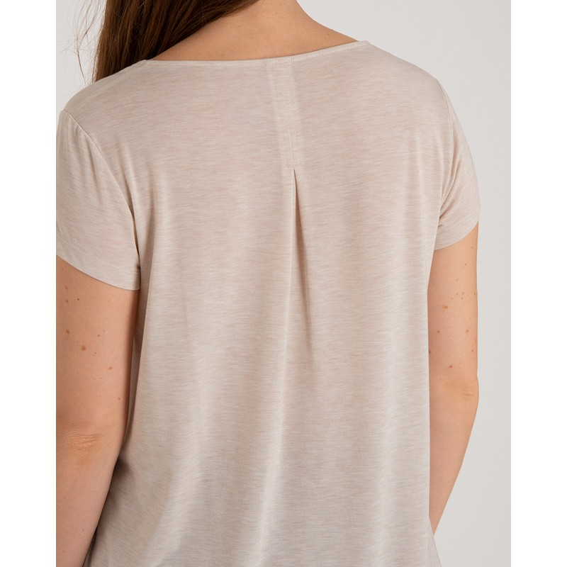 Asha Short Sleeve Tee - Goa Sand