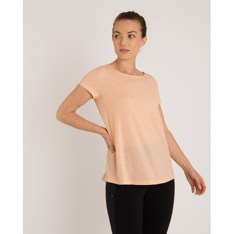 Sherpa Adventure Gear Asha Short Sleeve Tee in Lapsi Orange