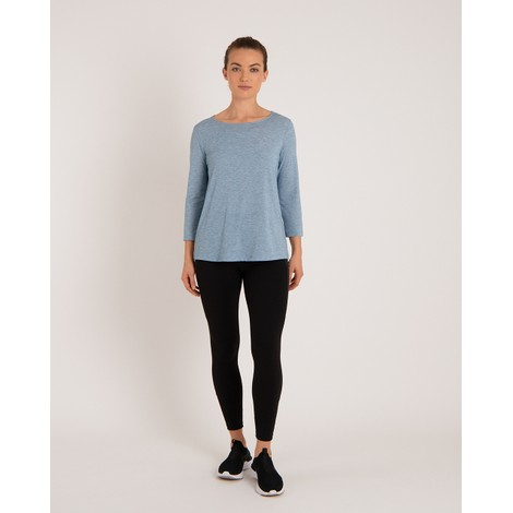 Asha 3/4 Sleeve Top Tilicho Blue