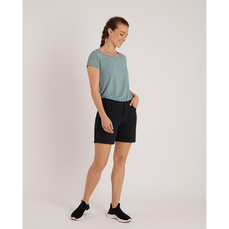 Asha Short Sleeve Tee - Tilicho Blue