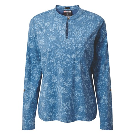 Sherpa Adventure Gear Ravi Pullover Shirt in Tilicho Print