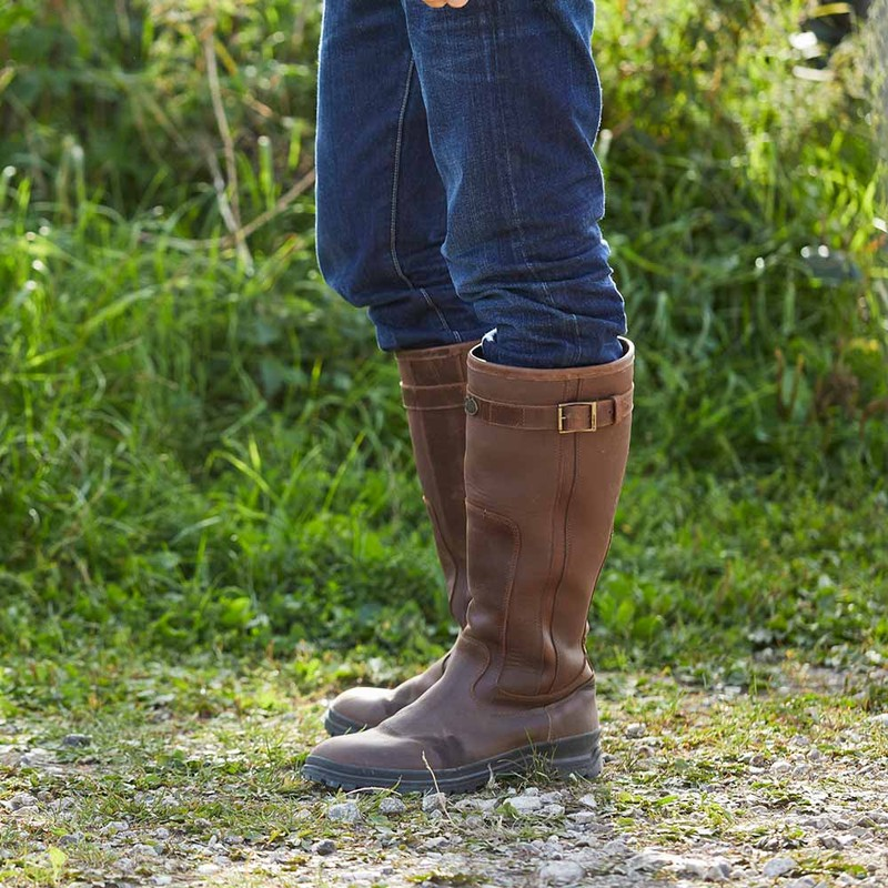 Jameson Unisex Wide Fit Leather Boot -