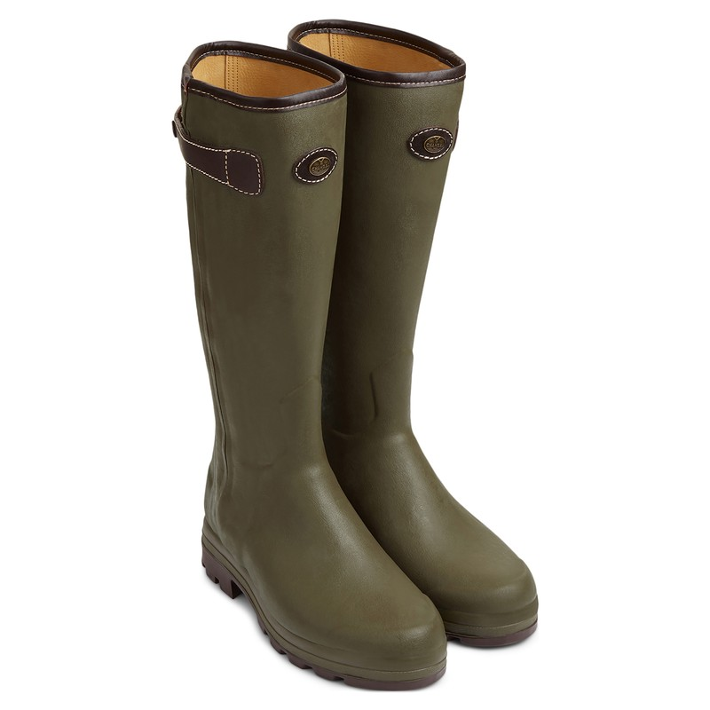 Men's Chasseur Héritage Leather Lined Wellingtons