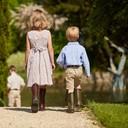 Children's Petite Aventure Jersey Lined Wellingtons