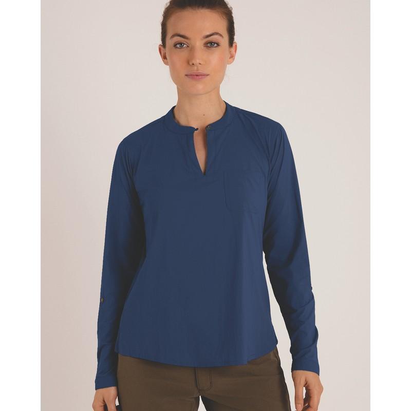 Ravi Pullover Shirt - Neelo Blue