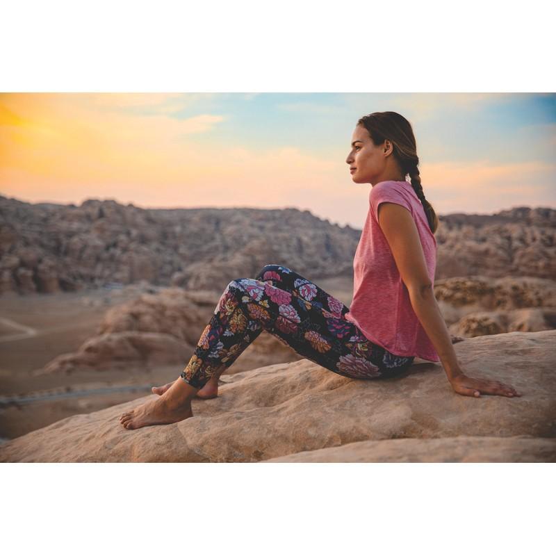 Sapna Printed Legging - Black