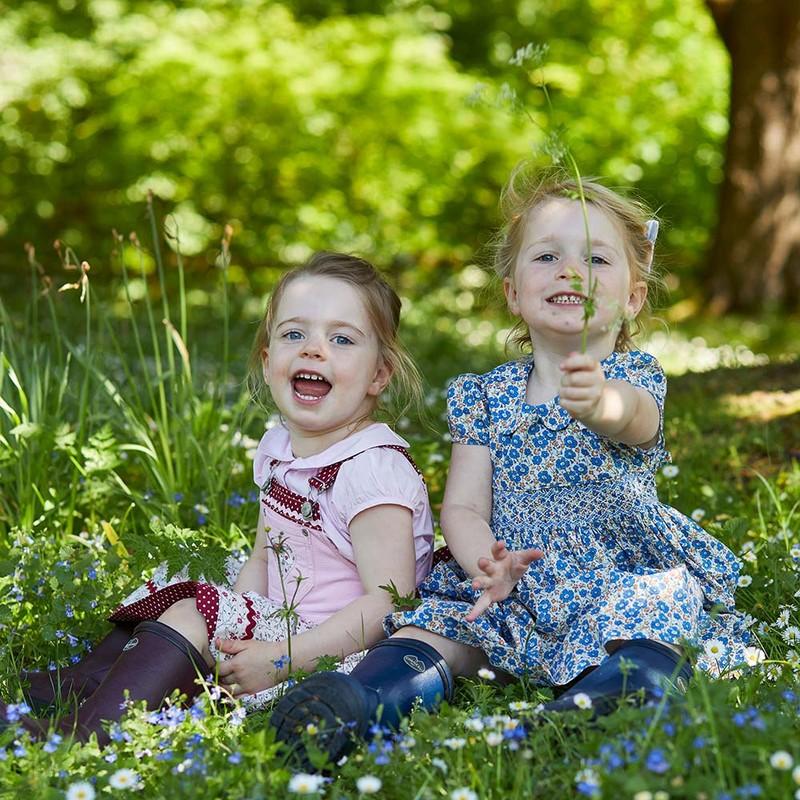 Children's Petite Aventure Jersey Lined Wellingtons -
