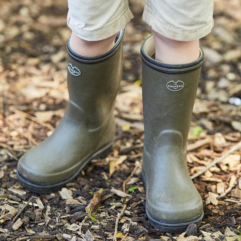 Children's Petite Aventure Jersey Lined Boot -