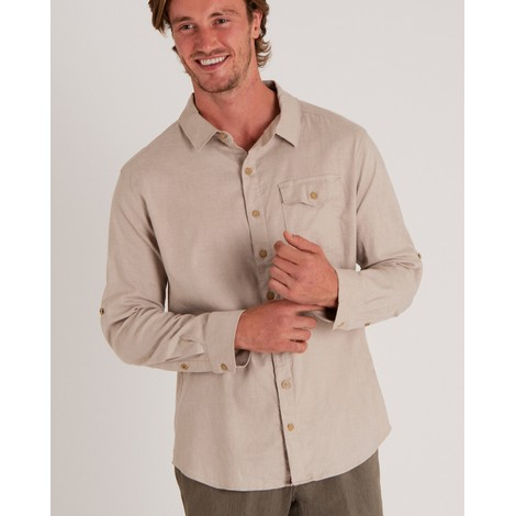 Sherpa Adventure Gear Kiran Long Sleeve Shirt in Goa Sand