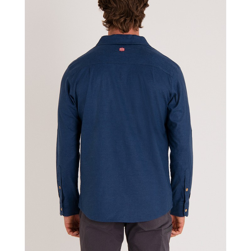 Kiran Long Sleeve Shirt - Neelo Blue