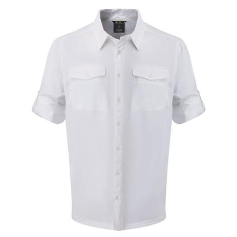 "Sherpa Adventure Gear Langärmeliges Hemd ""Ravi"" in Katha White"
