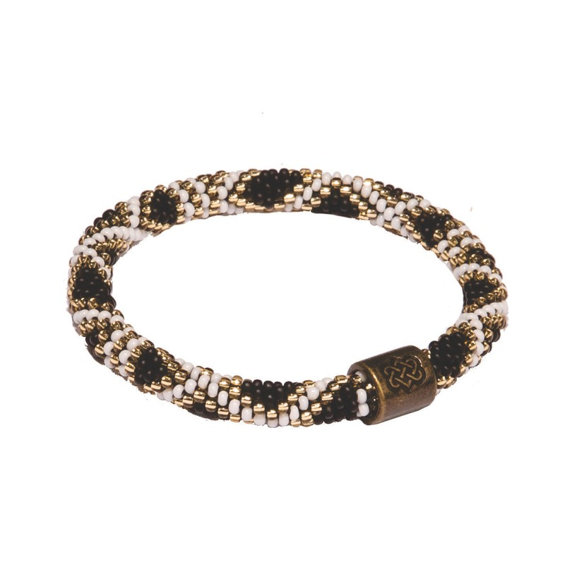 Mayalu Basket Roll On Bracelet - Black