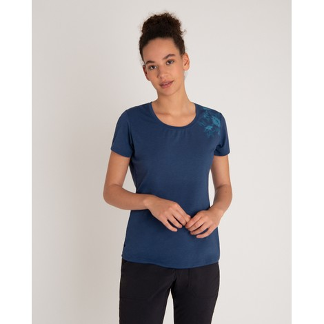 Sherpa Adventure Gear Hawa Tee in Neelo Blue