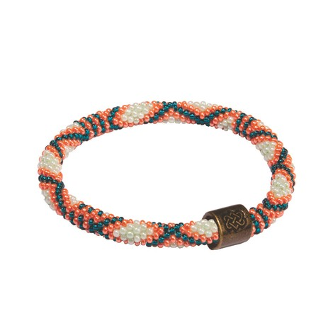 Sherpa Adventure Gear Mayalu Basket Roll On Bracelet in Rathna Green