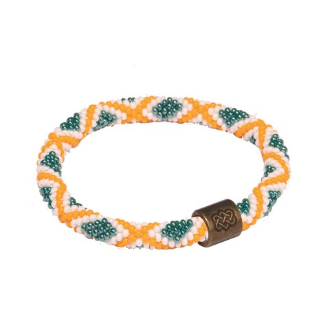 Sherpa Adventure Gear Mayalu Mughal Roll On Bracelet in Mani Gold