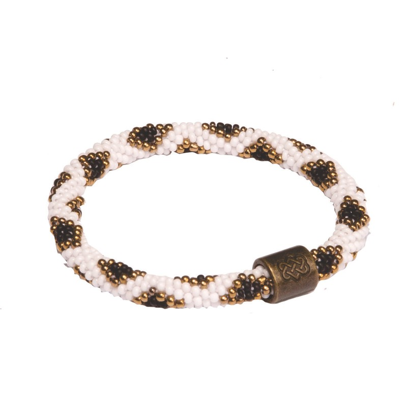 Mayalu Peacock Roll On Bracelet - Black