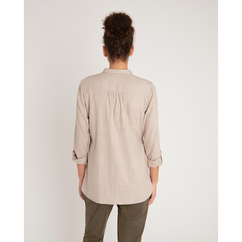Kiran Long Sleeve Shirt - Goa Sand