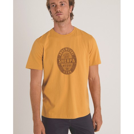 Sherpa Adventure Gear Taktsang Tee in Daal Yellow