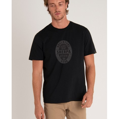 Sherpa Adventure Gear Taktsang Tee in Black