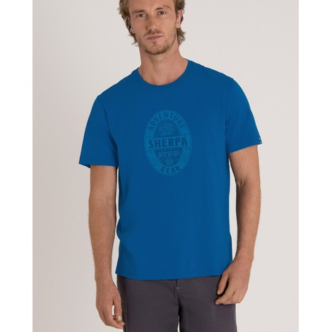 Sherpa Adventure Gear Taktsang Tee in Kongde Blue
