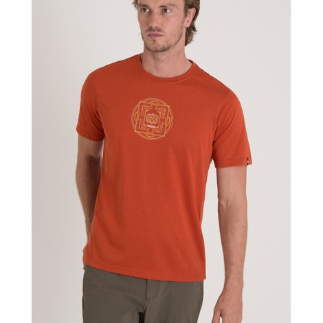 Sherpa Adventure Gear Mandal Tee in Teej Orange