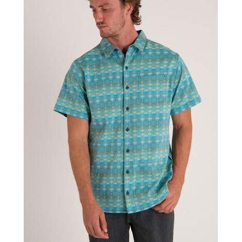 Sherpa Adventure Gear Dolkha Shirt in Neelo Blue