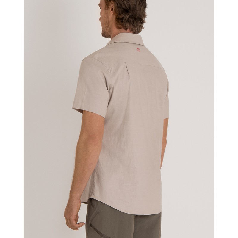 Kiran Short Sleeve Shirt - Goa Sand