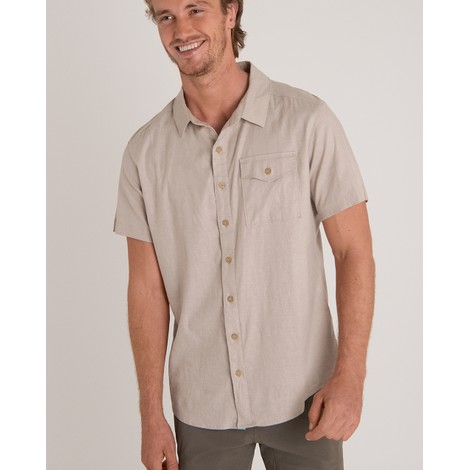 Sherpa Adventure Gear Kiran Short Sleeve Shirt in Goa Sand