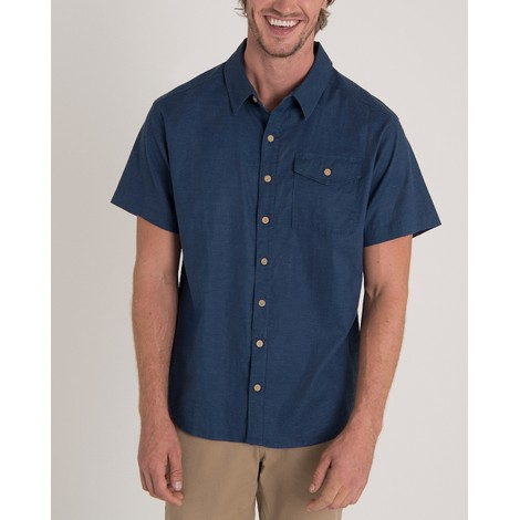 Sherpa Adventure Gear Kiran Short Sleeve Shirt in Neelo Blue