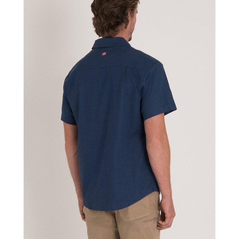 Kiran Short Sleeve Shirt - Neelo Blue