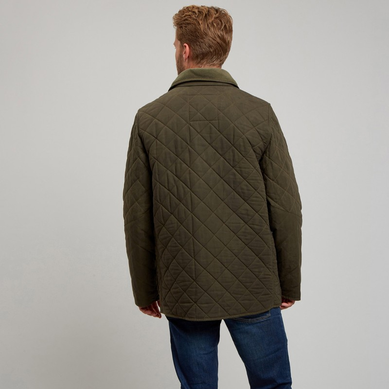 Men's LCM16 Quilted Wax Country Jacket -