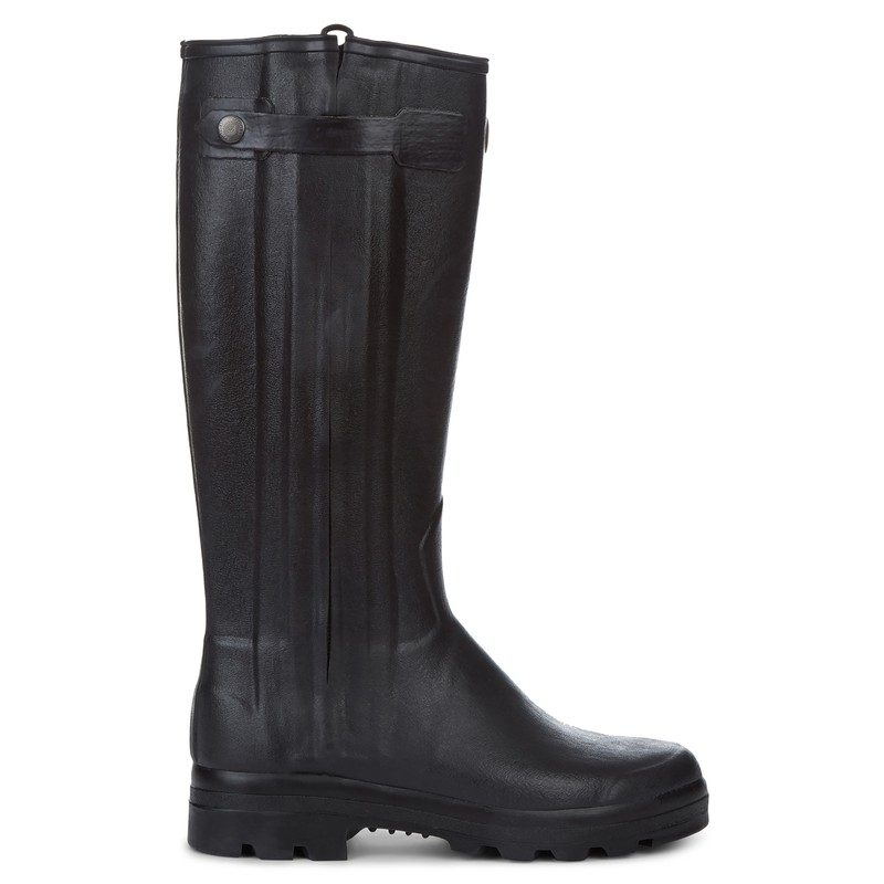 Men's Chasseur Leather Lined Wellington Boots -