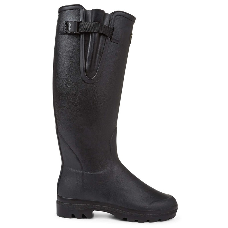 Women's Vierzon Leather Wellington Boots -