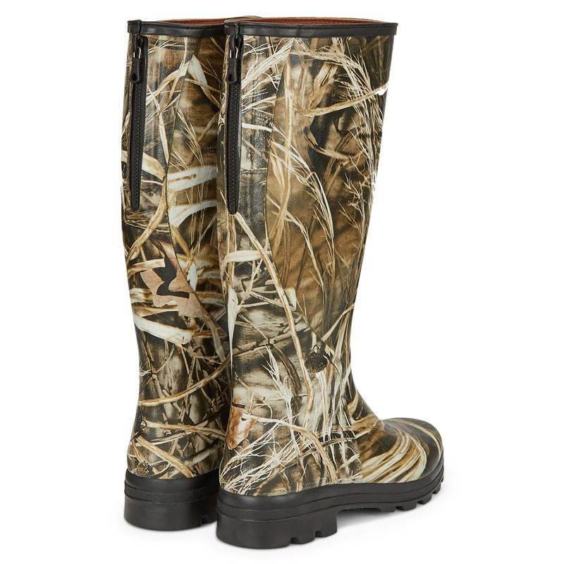Men's Traqueur Camo Onsteam Lined Boots -