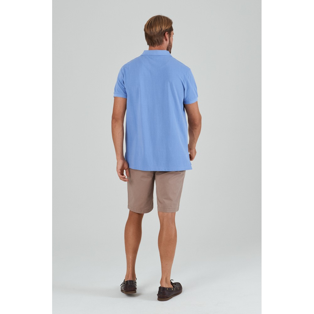 St Ives Polo Shirt Cornflower Blue