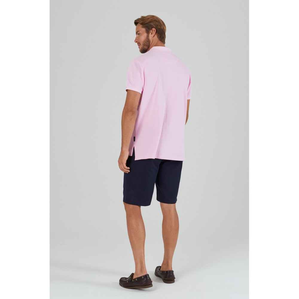 St Ives Polo Shirt Pale Pink