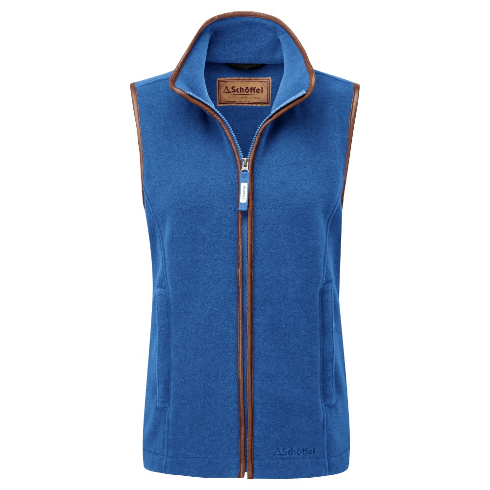 Lyndon II Fleece Gilet Cobalt Blue