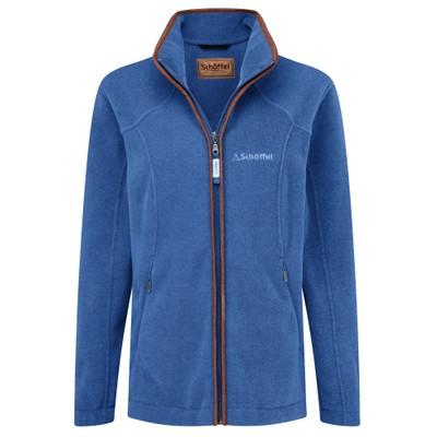 Burley Fleece Jacket Cobalt Blue