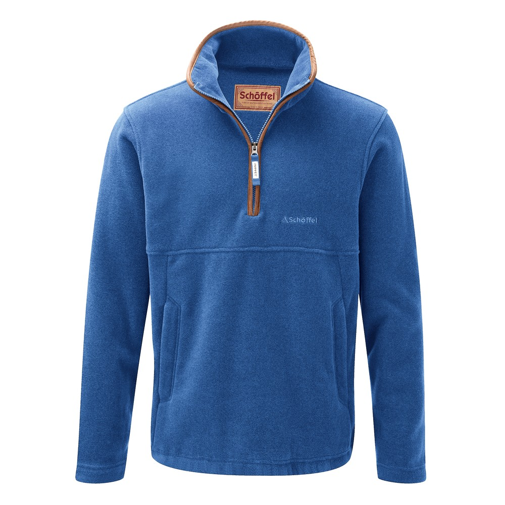 Berkeley 1/4 Zip Fleece Cobalt Blue