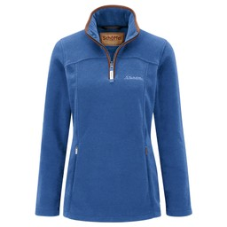 Tilton 1/4 Zip Fleece Cobalt Blue