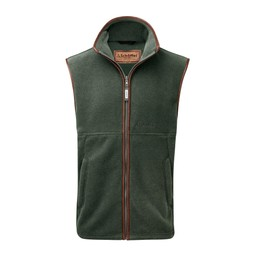 Schoffel Country Oakham Fleece Gilet in Cedar Green