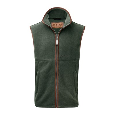 Oakham Fleece Gilet Cedar Green