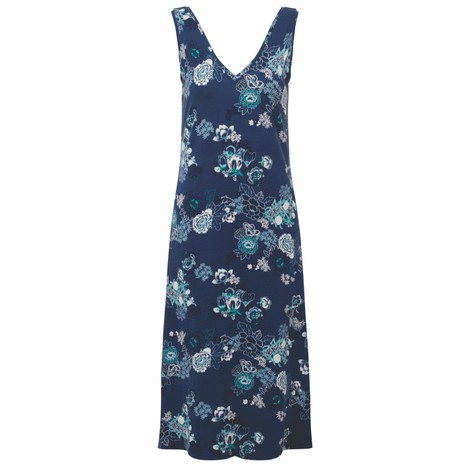Sherpa Adventure Gear Padma Midi Dress in Neelo Print