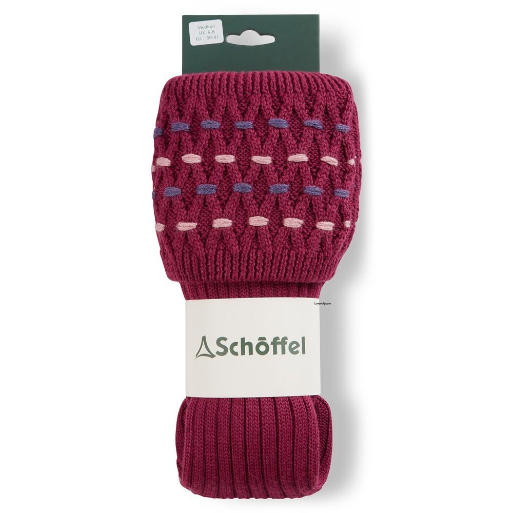 Ladies Stitch Sock II Raspberry/Purple