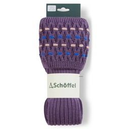 Ladies Stitch Sock II Lavender/Cobalt Blue
