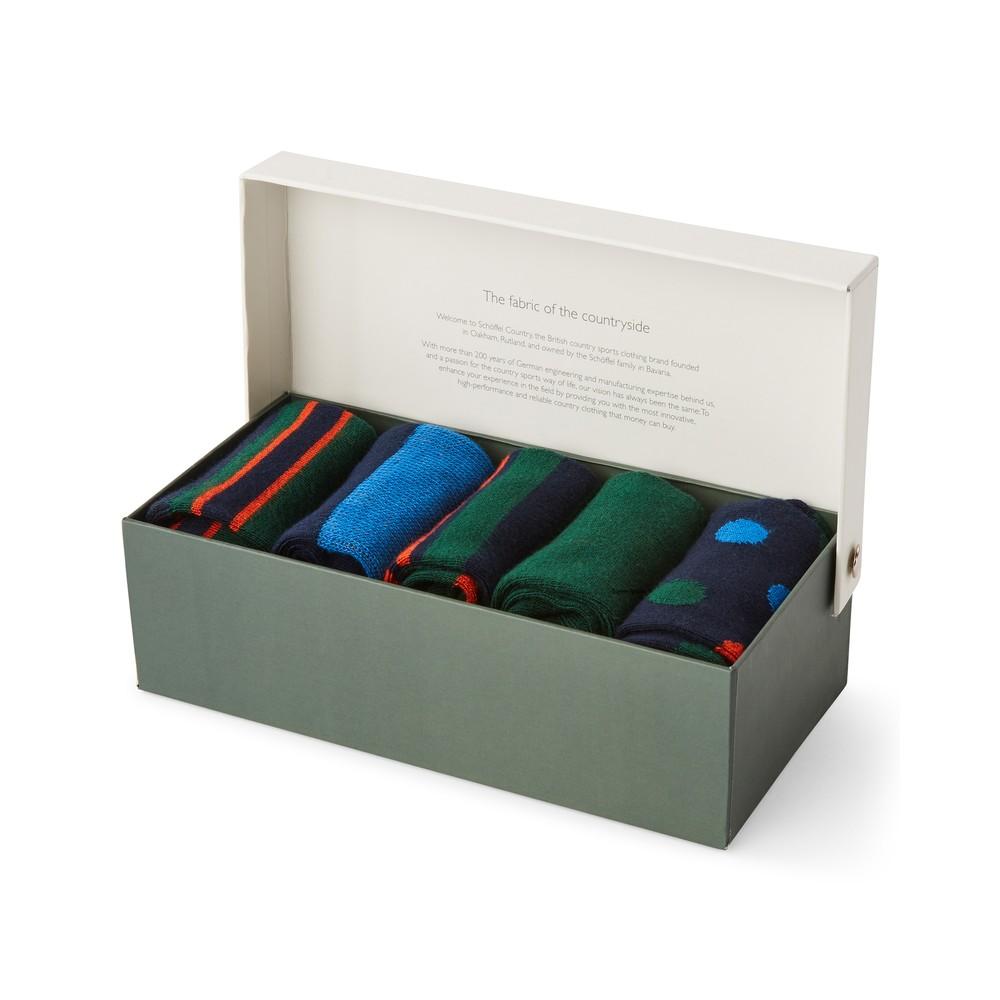Bamboo Sock (Box of 5) Ink Mix