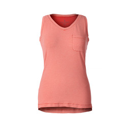 Royal Robbins Kickback Tank in Peach Stripe