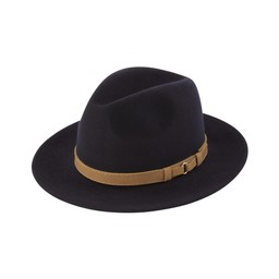 Schoffel Country Willow Fedora in Navy