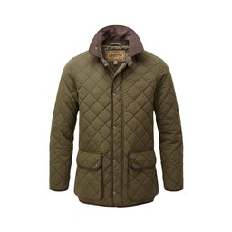Schoffel Country Barrowden Quilt Jacket in Olive